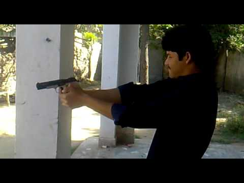 my shooting 30 bore pistol 5 rounds
