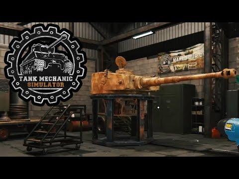 Panzer Mechanic Simulator #03 - Den Panzer zerlegen - TANK MECHANIC SIMULATOR Deutsch
