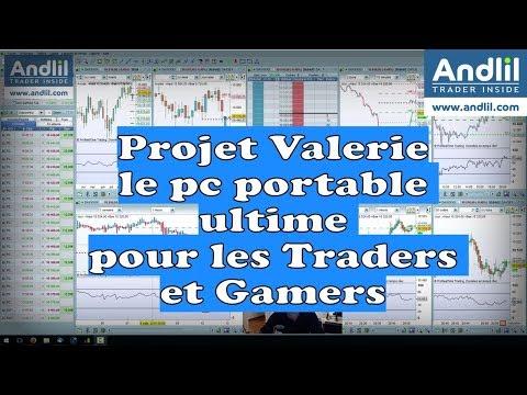 Projet Valerie, le pc portable ultime pour les Traders et Gamers