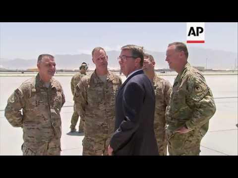 Defense Secretary Carter in Afghanistan
