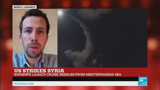 US Missile Strikes in Syria  Mixed reactions in the Middle East after the attack