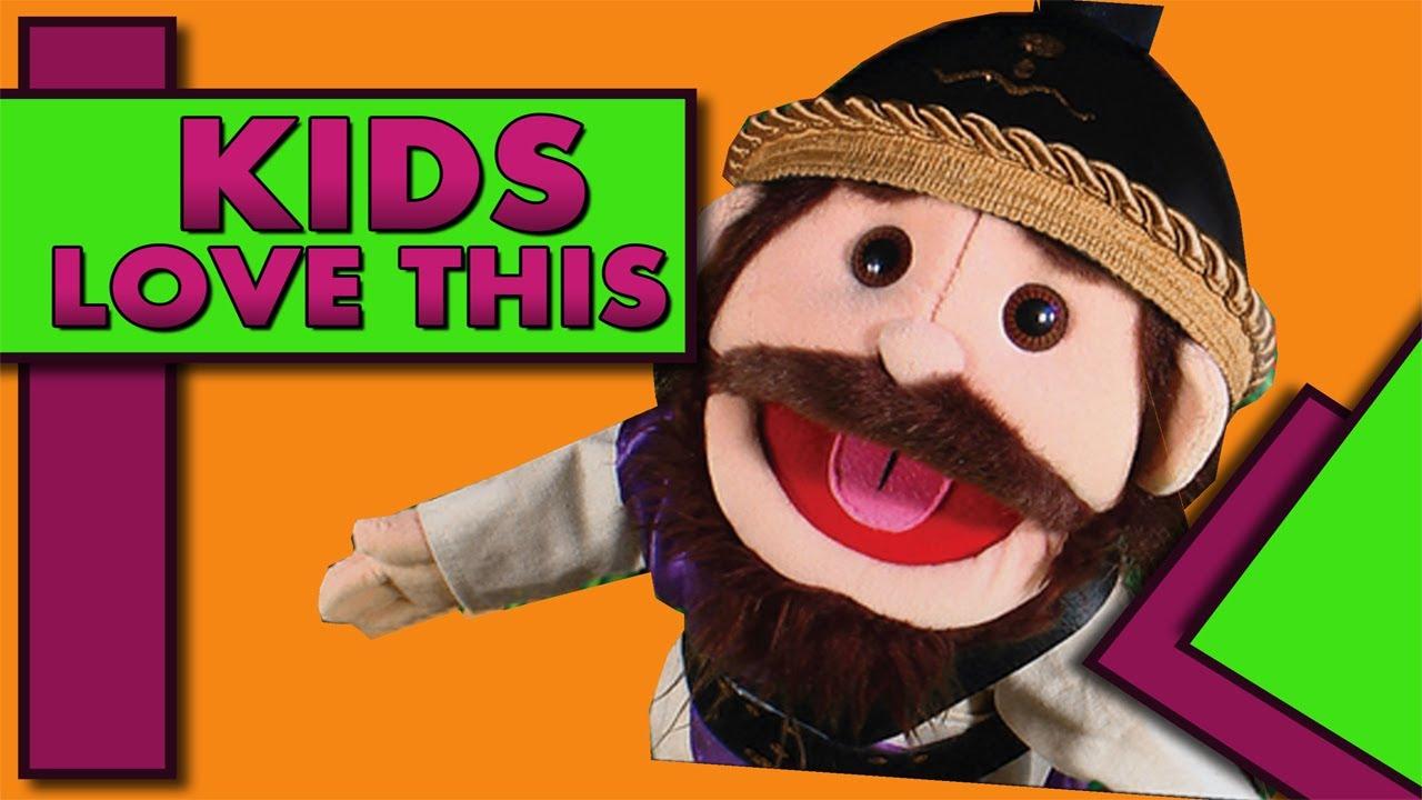 BEDTIME STORIES PRESENTS: Amazing Bible Puppet Theater #1 KIDS LOVE IT! :D