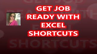 MOST USED EXCEL SHORTCUT TRICKS AND BECOME JOB READY