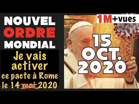 LE PAPE ACTIVE LE NOUVEL ORDRE MONDIAL LE 14 MAI 2020! Allan Rich