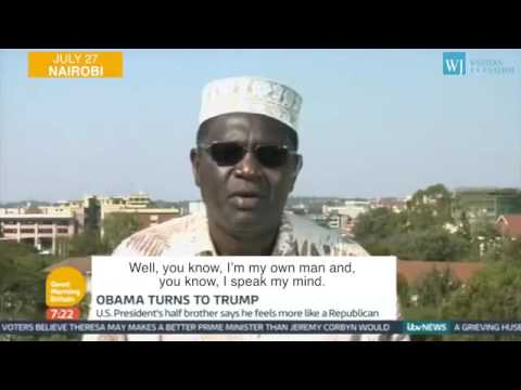 Barack Obama's Brother Endorsed Donald Trump! Malik Obama Says Not To Kill in the Name of Islam