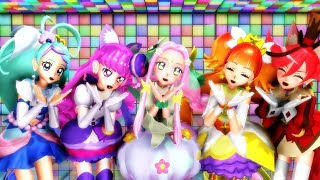 【MMD】Kimagure Mercy - Pretty Cure Dream Stars!