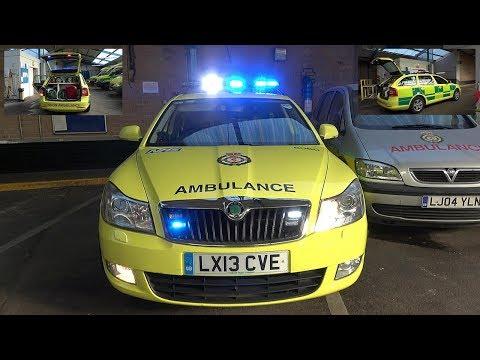 Ambulance FRU Lights & Siren Demo