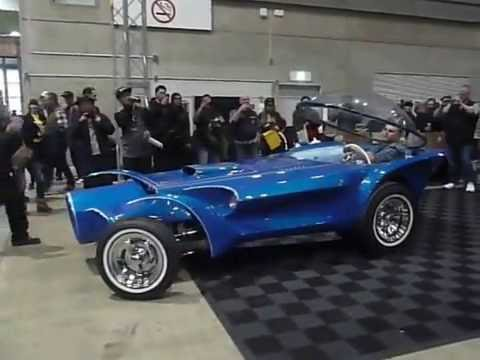 Ed Roth S Orbitron 2016 Yokohama Hot Rod Custom Show Youtube