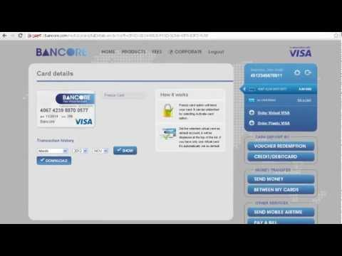 How To Sign-up And Get A Free VIRTUAL VISA.mp4