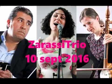 Zarassi Trio på Åtorps Herrgård i Munkedal och Bohusläns Museum i Uddevalla