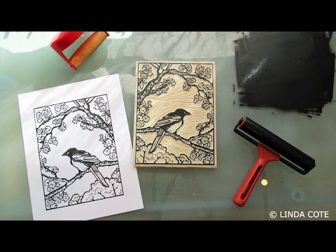LINDA COTE Printmaking Supplies: The Ink