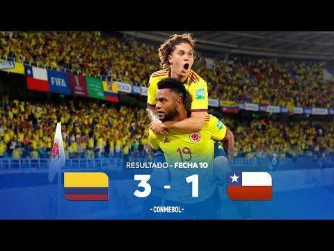 Eliminatorias Sudamericanas | Colombia 3 1-1 Chile | Fecha 10