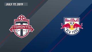 Match Highlights: Toronto FC vs New York Red Bulls - July 17, 2019