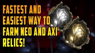 Warframe: How to farm Neo and Axi relics FAST AND RELIABLE - The War Within Update!