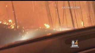 Boston Father And Son Escape Montana Wildfire