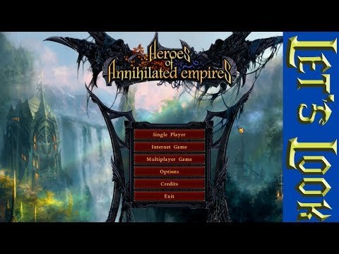 Let's Look At: Heroes Of Annihilated Empires - A Great RPG/RTS Hybrid!