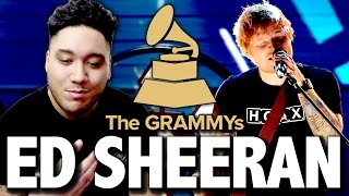 Ed Sheeran | The 59th Annual Grammy Awards 2017 REACTION!!!