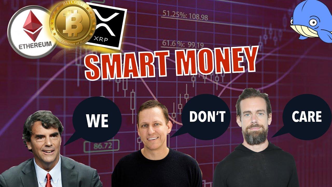 MARKET VOLATILITY IS POINTLESS! WATCH SMART MONEY!! BTC Whales, Texas Bitcoin Mining + Ripple Scam. 1