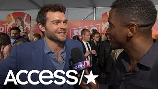 'Solo: A Star Wars Story': Alden Ehrenreich Says Fans Will Love The Han-Chewie Bromance | Access