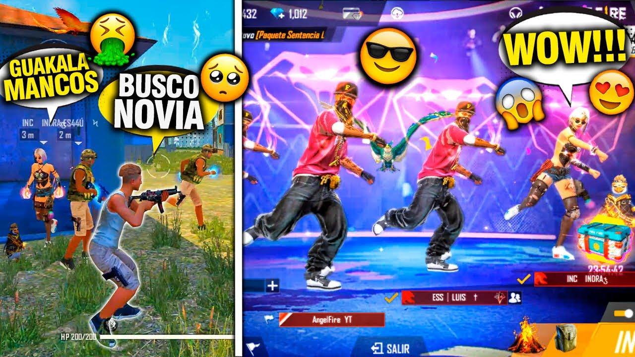 """CHICA nos HUMILLA por la ROPA DE BOT """"la hago bailar con el emote cobra"""" Y SE ARREPIENTE! FREE FIRE"""