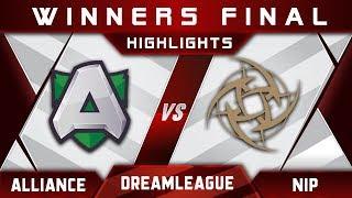 Alliance vs NiP Winners Final DreamLeague Season 12 2019 Highlights Dota 2