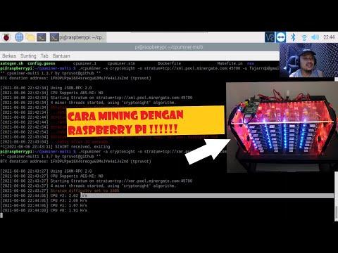 Cara Mining Crypto Dengan Raspberry Pi