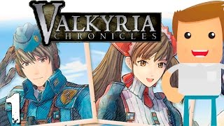 COMIENZA LA AVENTURA ► Valkyria Chronicles #1 [ Gameplay Español ]