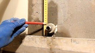 видео Как сделать отверстие в плитке под розетку или трубу