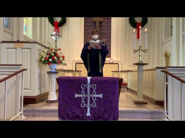 Worship - November 29, 2020
