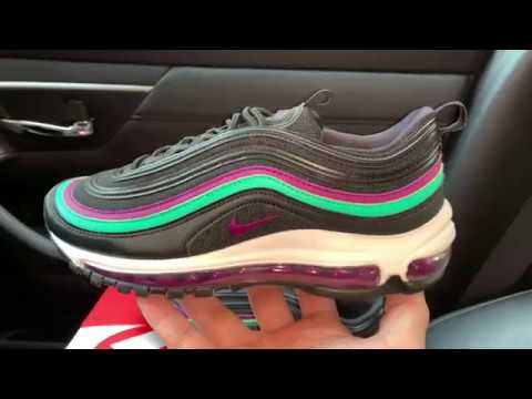 Nike Air Max 97 Black Grape Womens sneaker