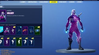 FORTNITE FOR ANDROID The Fortnite Galaxy skin would be a new exclusive starter pack for Android