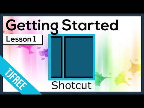 Shotcut Lesson 1 - How to Download & Install