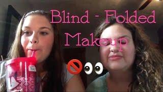 Blind- Folded Makeup Challenge W/ Amanda ❤️ Thumbnail