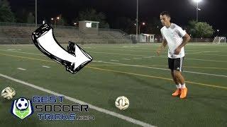 Self Passing Soccer Trick