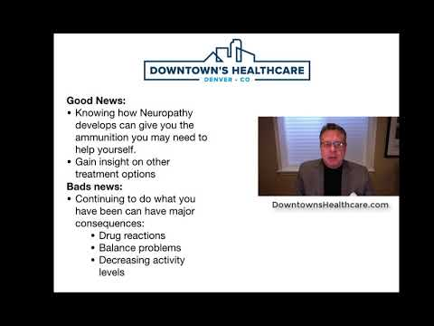 e724f6f657 What Is Neuropathy From Downtown's Healthcare In Denver - YouTube