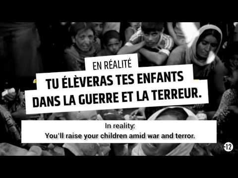 Isis: France launches propaganda war against Islamic State with #StopJihadism video
