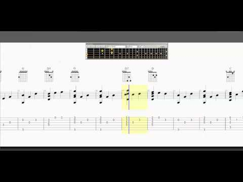 Guitar Tab - Edelweiss - How to Play - Arrangement - Fingerpicking - Slow