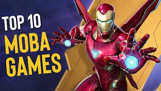 Top 10 Best MΟBA Games 2021 (Android & iOS)