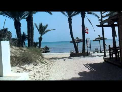 Homere Hotel, Djerba, Tunisia - the walk to the private beach