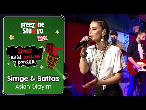 Simge & Sattas - Aşkın Olayım  FreeZone Stüdyo'da Simge ile Raad Online Konser  SaçmaGüzel