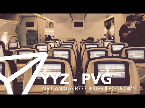 FLIGHT REPORT || Air Canada - B777-300ER (77W) - Economy - Toronto to Shanghai