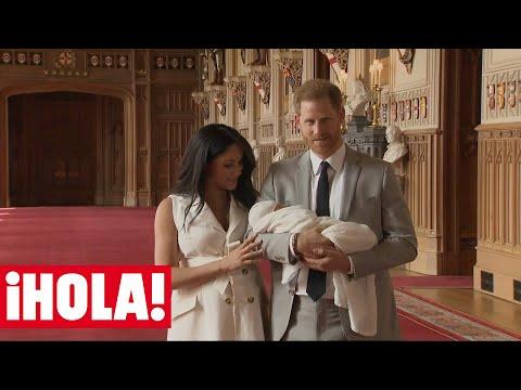 El príncipe Harry y Meghan Markle presentan a su primer bebé