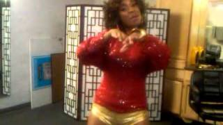 "Alexis Greene dancing to Future ""Word to my Muva""..."