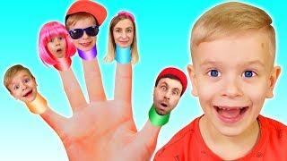 Finger Family Song   Children songs by Dima Family Show