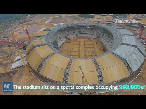 Check out the 2nd largest stadium in Africa! A symbol of China-Africa friendship