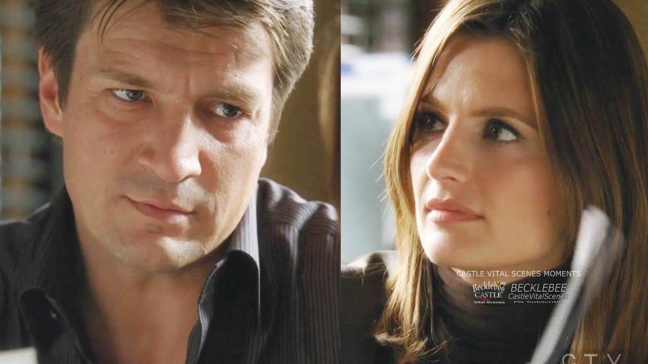 Castle 3x05 Moment: I love you - The Stare & Awkward Reactions ...