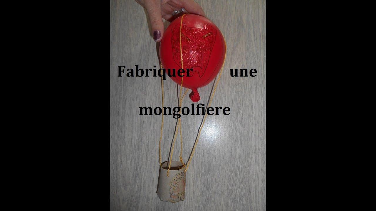 montgolfiere a fabriquer