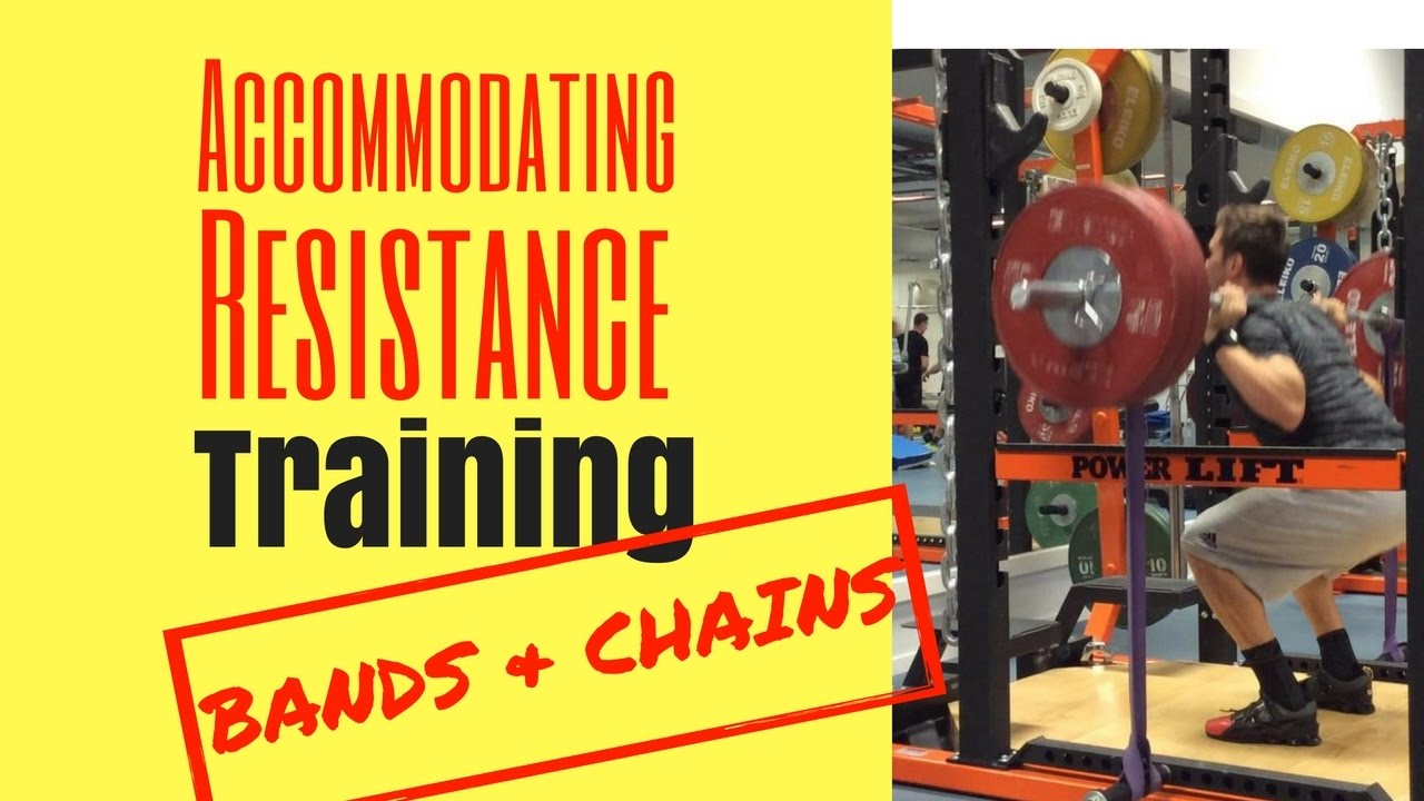 Accommodating resistance bands