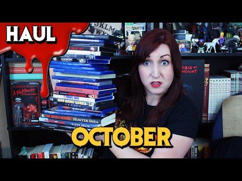 HORROR HAUL (October 2015) | Movie & Book Pick Ups