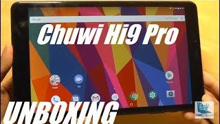 """Unboxing: Chuwi Hi9 Pro - 8.4"""" 4G LTE Android Tablet (Phone?)"""